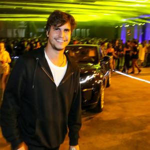 O empresário Pedro Braun posa na festa (Foto: Divulgação)