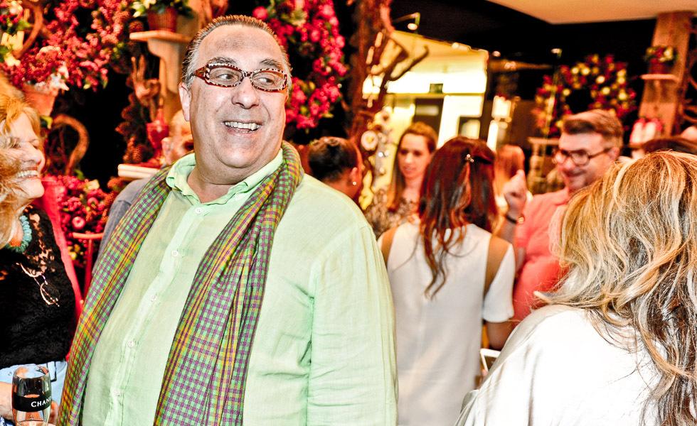 Toninho Mariutti, um dos mais famosos banqueteiros esteve presente (Foto: Divulgação)