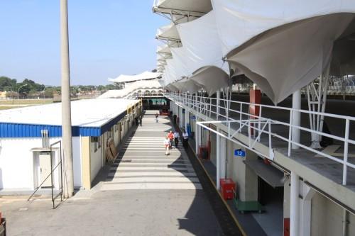 Parte central será coberta na reforma (Foto: Reprodução)