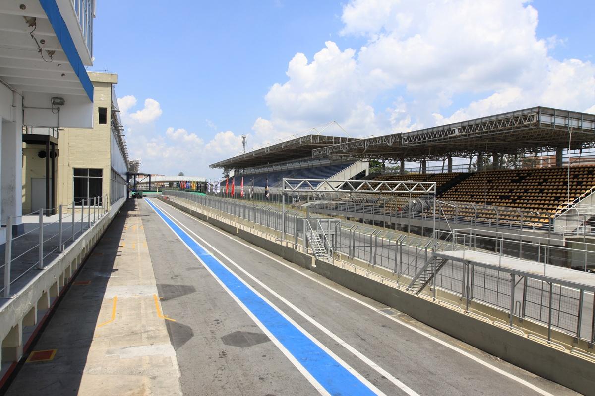 Vista pista Interlagos (Foto: Reprodução)