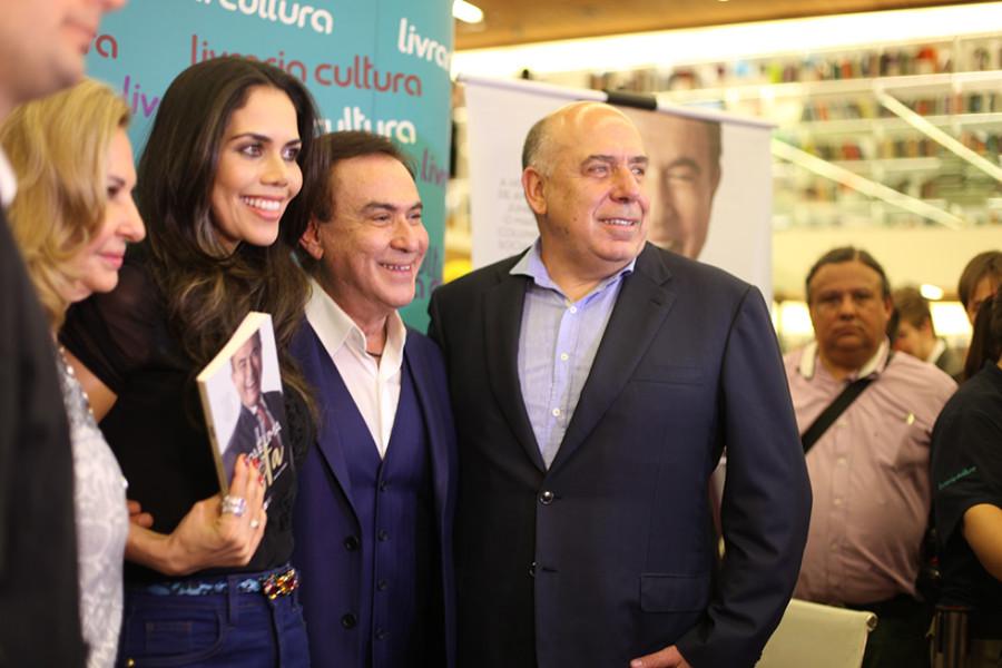 Celina, Daniela Albuquerque, Amaury Jr e Amilcare Dallevo (Foto Nair Barros)