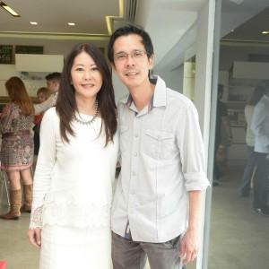 Claudia Hosoe e Fernando Takase (Foto: Paula Zorzi/ Divulgação)