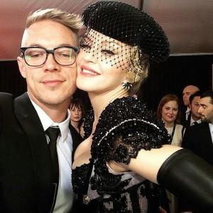 Diplo e Madonna (Foto: Divulgação)