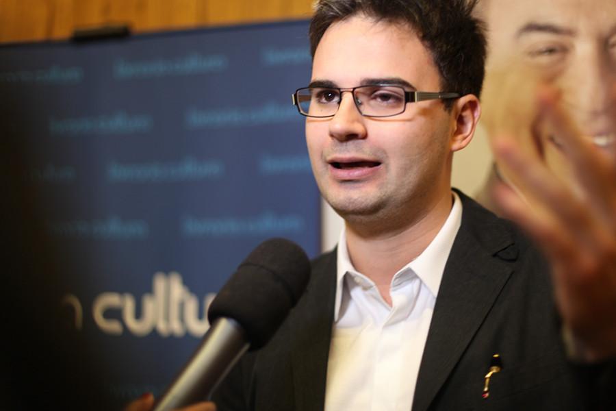 Escritor Bruno Meier (Foto Nair Barros)