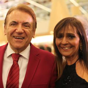 Henrique Salvador e Rita Maluf (Foto: Nair Barros)
