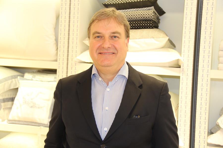 Diretor comercial da marca, Alvin Rauh (Foto: Nair Barros)