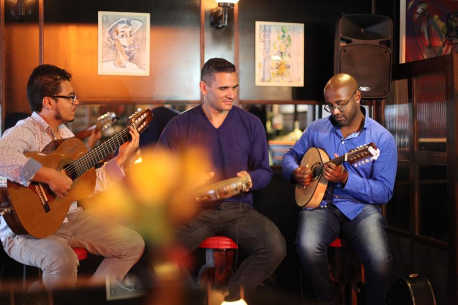 Trio da Serra se apresenta aos sábados (Foto: Nair Barros)