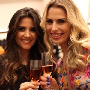Patricia Salvador e Fernanda Keulla (Foto: Nair Barros)