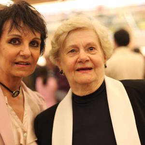Valéria e Cidinha Baraccat (Foto Nair Barros)
