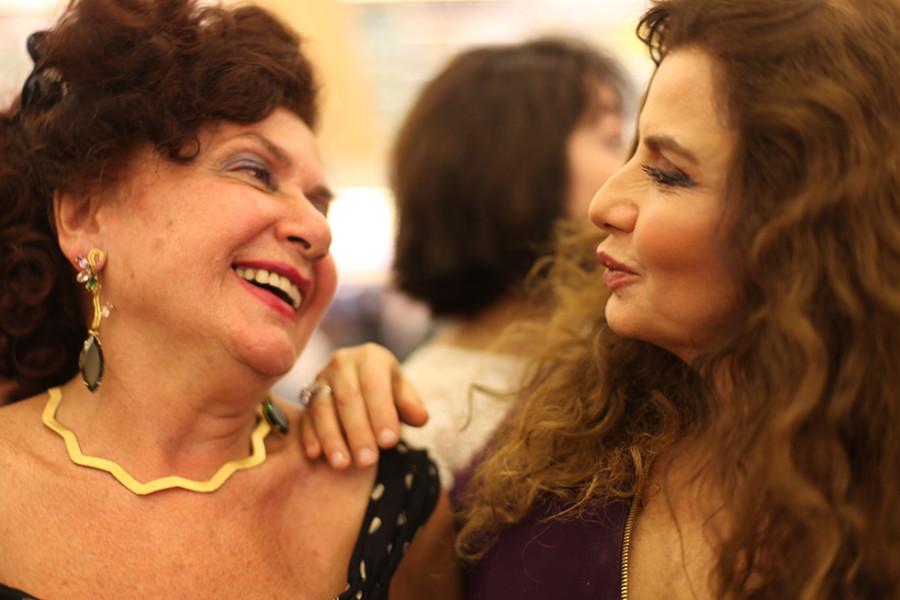 Rosmary Avakian e Ligia Kogos (Foto Nair Barros)