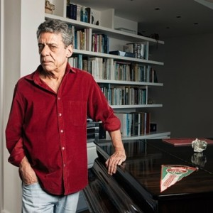 Chico Buarque e os livros (Foto: Divulgação)