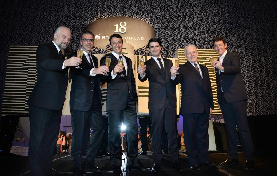 Carlos Mangold, Diego Berná, Juan Eduardo García, Esteban Rigo-Righi, Joaquín Ramírez e Álvaro Elola (Foto: Fernando Gutiérrez)