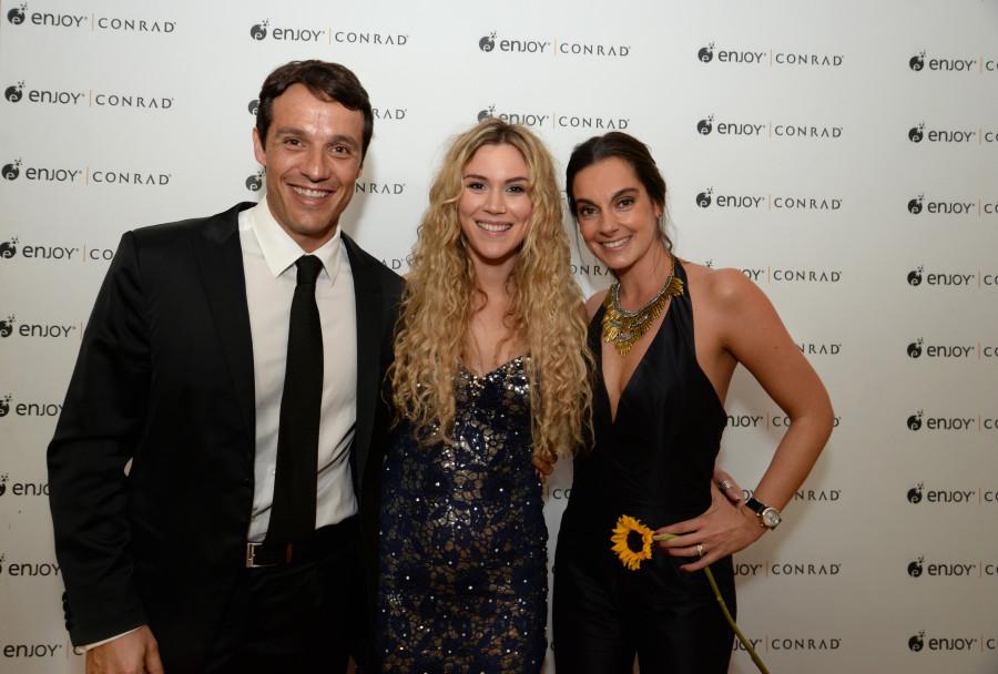 Juan Eduardo García, Joss Stone e Cecilia Gracia (Foto: Fernando Gutiérrez)