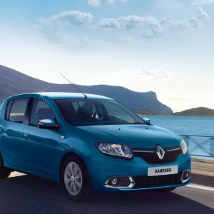 Renault Sandero com desconto (Foto: Divulgação)