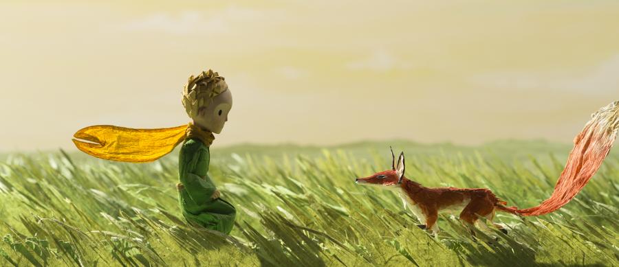Cena do filme O Pequeno Príncipe (Foto: Divulgação)