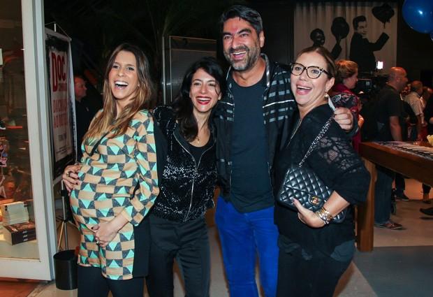 Sarah Oliveira, Marina Person, Zeca Camargo e Astrid Fontenelle (Foto: Divulgação)