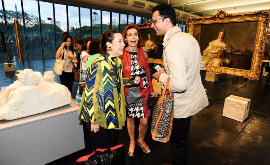 Georgiana Rothier, Neidinha Moraes e Paulo Vicelli (foto: divulgação)