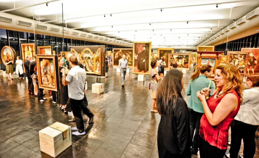 Exposição permite nova forma de ver a arte (foto: divulgação)