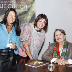 Adriana Cortez, Ana Maria Rodrigues e Ida Frank (foto: Divulgação)