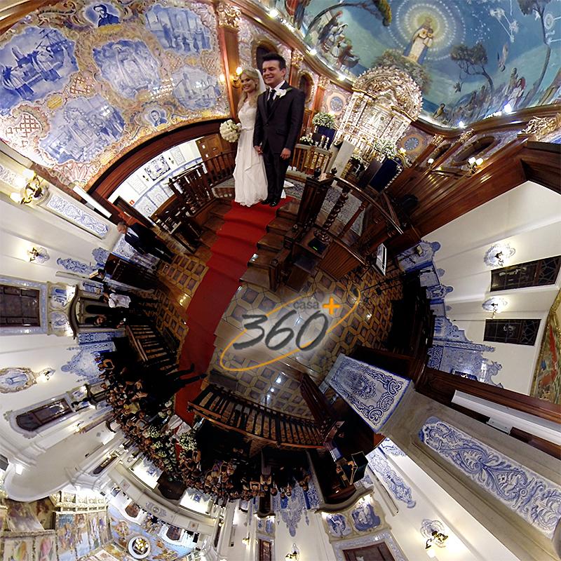 Festas são filmadas em 360 graus e o espectador pode interagir com ambiente (Foto: Divulgação)