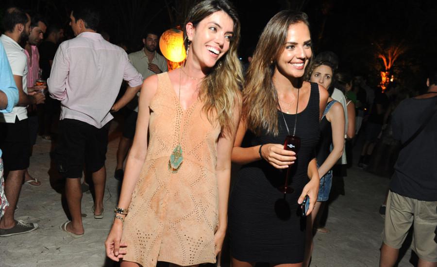 Sabrina Luzzi e Pilar Velasquez (Foto: Divulgação)