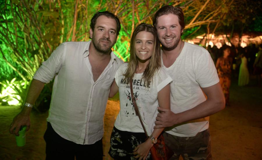 Bruno Setubal, Luiza Almeida e Ricardo Goldfarb (Foto: Divulgação)