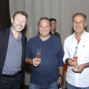 Flavio Steiner, Arri Cuser e Emir Magnani (foto: Divulgação)