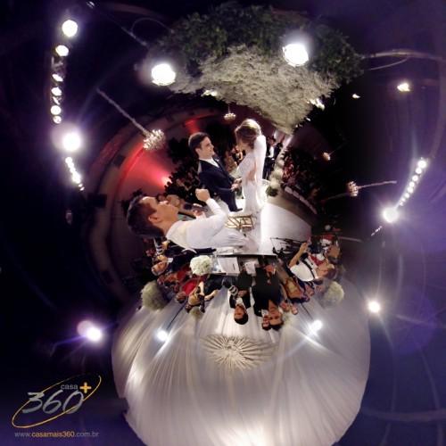 Festa filmada em 360 graus (Foto: Divulgação)