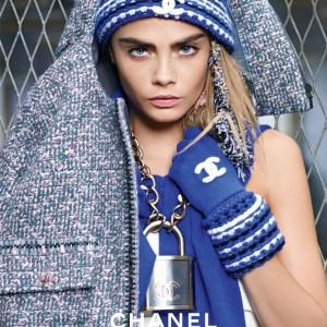 Cara Delevingne para Chanel (Foto Divulgação)