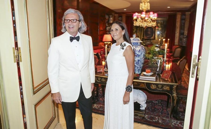 Jorge Elias e Lucila Elias (Foto: Divulgação)