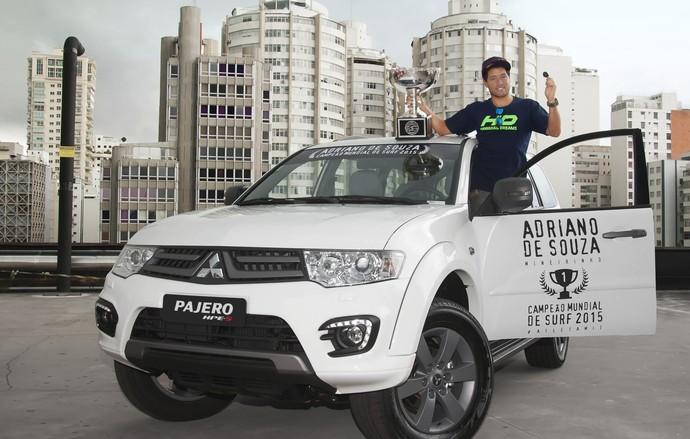 Mineirinho ganha carro presente avaliado em R$184 mil (Foto: Divulgação)