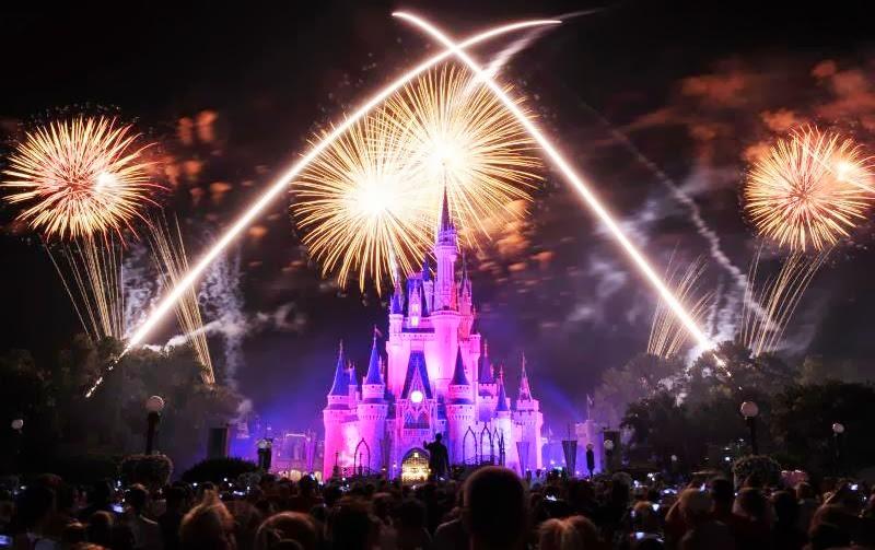 Réveillon na Disney (Foto: Divulgação)