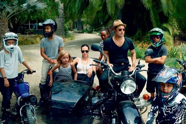 Família Jolie-Pitt está de férias na Tailândia (Foto: Divulgação)
