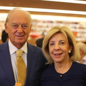 Marcos e Bete Arbaitman estiveram no lançamento (foto: divulgação)