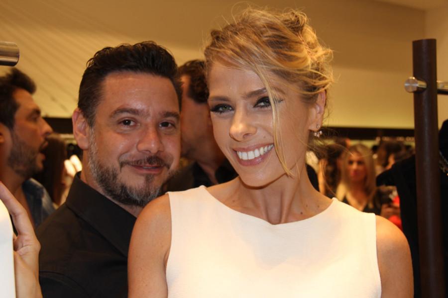 Adriane Galisteu e o marido, Alexandre Iódice (Foto: Nair Barros)