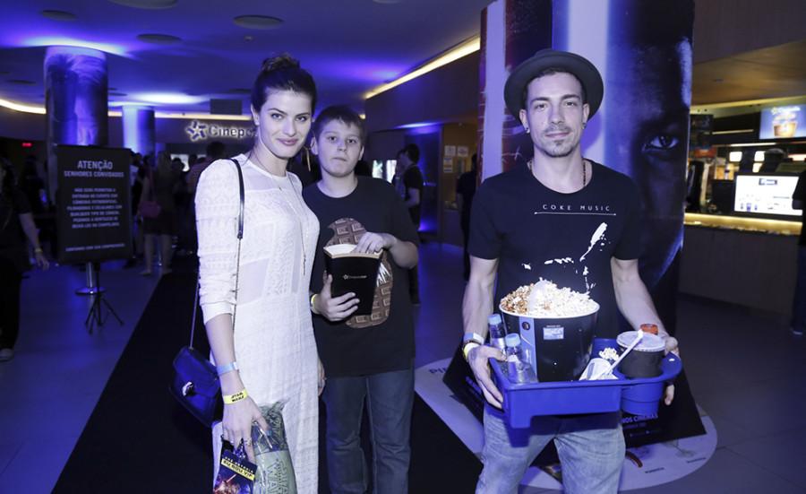Isabeli Fontana, Zion e Di Ferrero (Foto: Divulgação)