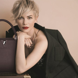 Michelle Williams para Louis Vuitton (Foto: Divulgação)