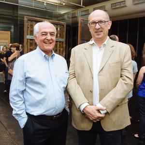 Miguel Gutierrez e Roberto Bertani (Foto: Divulgação)