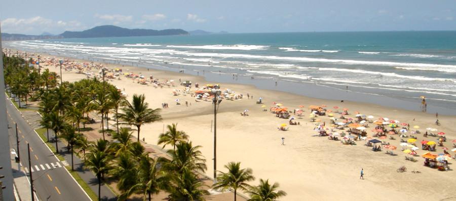Praia Grande é um dos destinos mais baratos por R$200 (foto: divulgação)