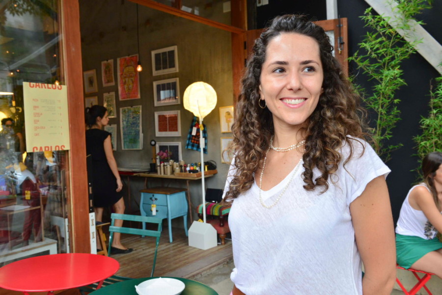 Rahja Afrange já esteve presente na primeira pop-up (Foto Divulgação)