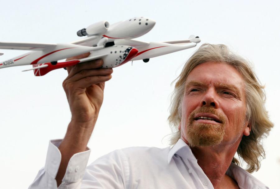 """""""Não gosta de algo? Faça você mesmo, e faça melhor"""", Richard Branson (Foto: Divulgação)"""