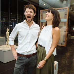 Sebastian Fuchs e Laurie Di Francesco (Foto: Divulgação)