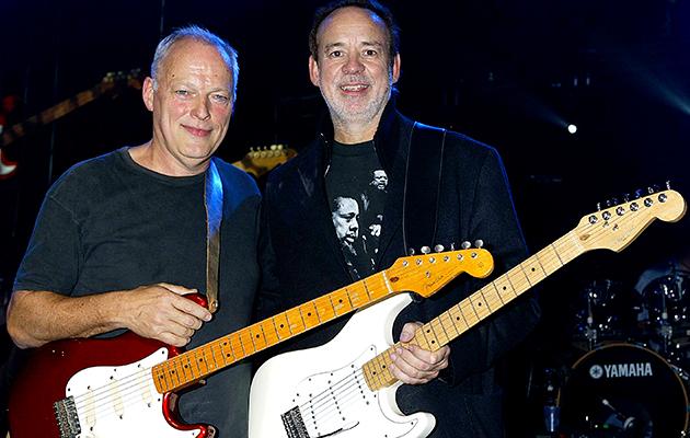 Gilmour e Manzanera (foto: divulgação)