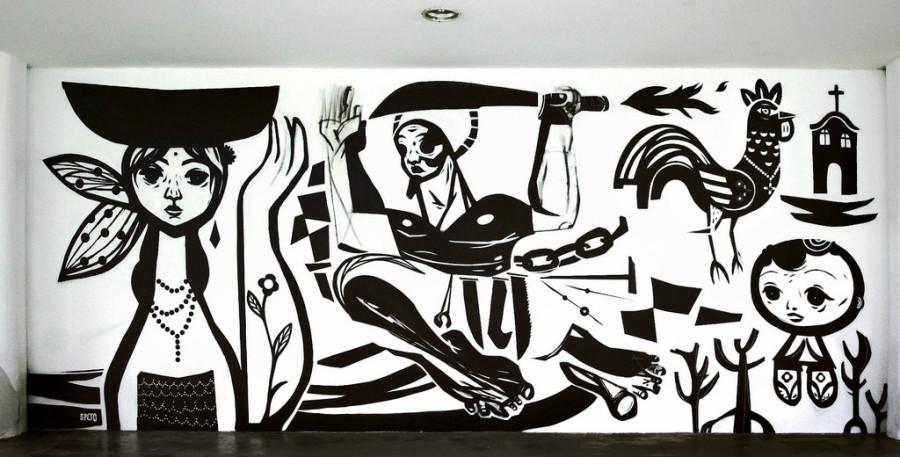 Grafite de Speto em São Paulo (foto: divulgação)