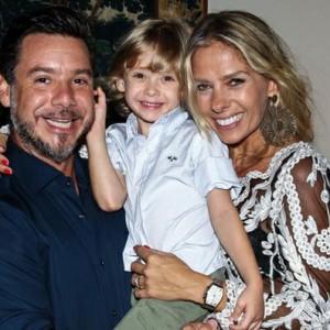 Adriane Galisteu e família (Foto: Divulgação)
