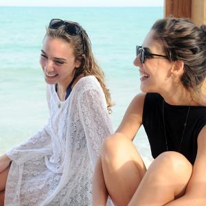 Jida Kanafani e Lilly Sarti (Foto: Divulgação)