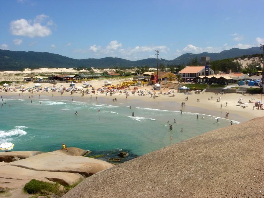 praia da joaquina florianópolis (foto: divulgação)