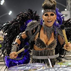 Rainha de bateria (Foto: Divulgação)