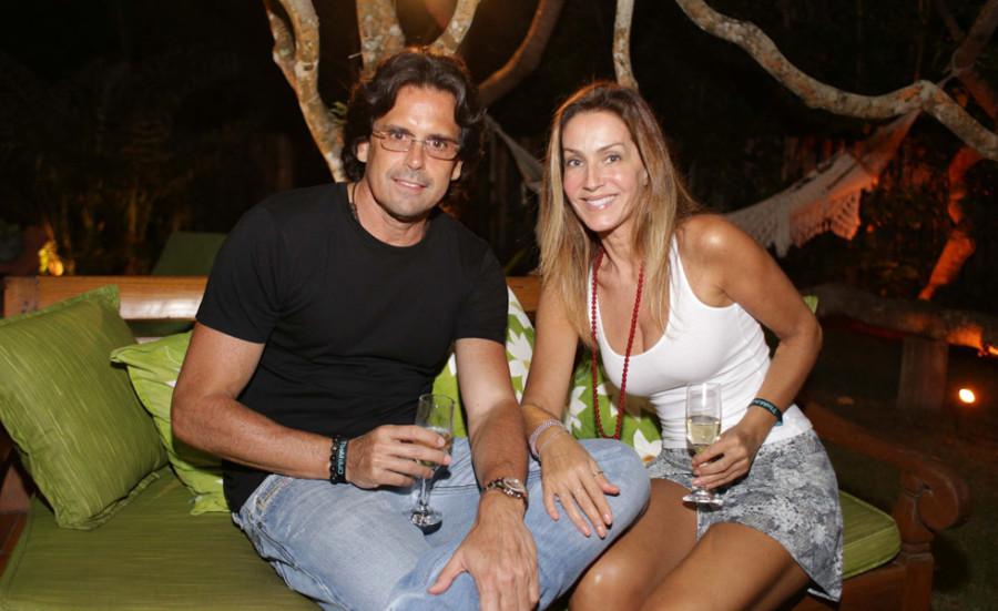 Fausto Ferraz e Patrícia Machado (Foto: Divulgação)