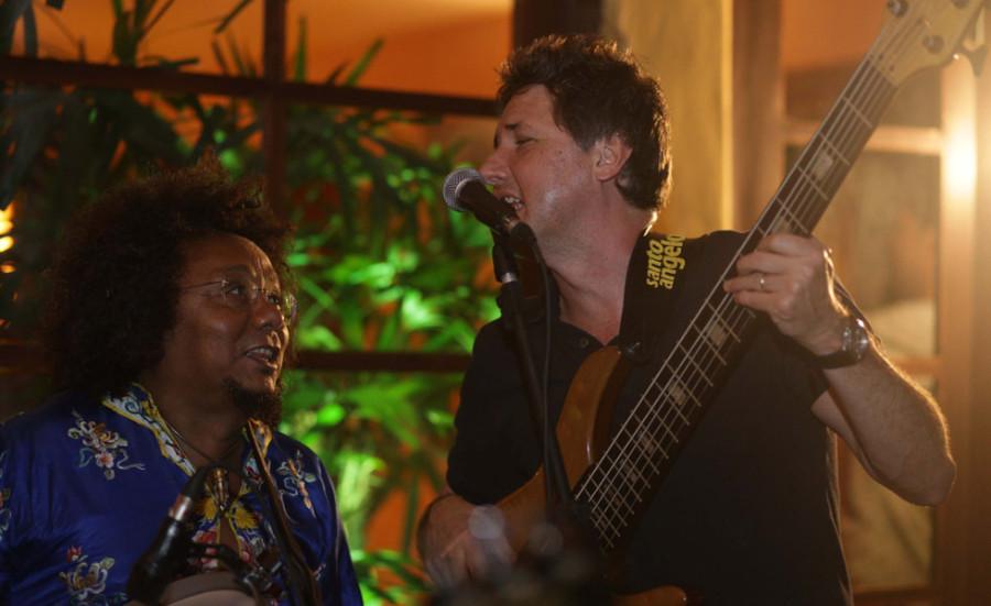 Chico César e Lelo Zaneti (Foto: Divulgação)